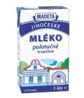 Mléko trvanlivé Jihočeské Madeta -1,5% polotučné