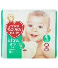 Pleny dětské Ultra Dry Loves Baby Tesco