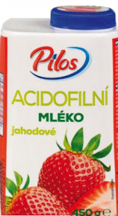 Acidofilní mléko ochucené Pilos