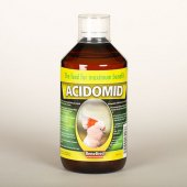Prevence proti bakteriím pro exotické ptactvo Acidomid Benefeed