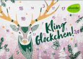 Adventní kalendář s kosmetikou Alverde
