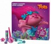 Adventní kalendář s kosmetikou Trolls