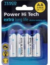 Baterie alkalické HiTech Tesco