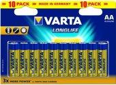 Baterie alkalické Longlife Varta