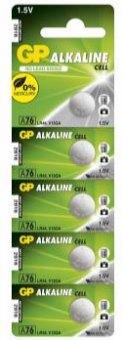 Alkalické knoflíkové baterie GP