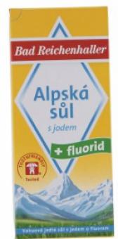 Sůl alpská s jódem a fluoridem Bad Reichenhalter