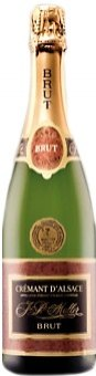Sekt Brut Alsasko Crémant  Vin D' Alsace