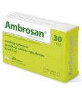 Tablety proti kašli Ambrosan