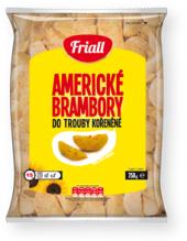 Americké brambory mražené Friall