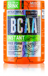 Aminokyseliny v prášku BCAA Extrifit