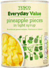 Ananas Tesco Value