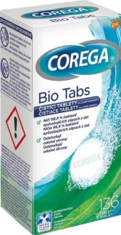 Antibakteriální tablety na zubní protézy Bio Corega