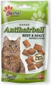 Doplněk stravy pro kočky Antihairball Akinu