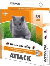 Obojek antiparazitní pro kočky Attack
