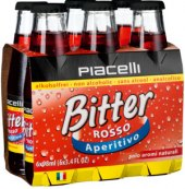 Aperitiv Bitter Rosso nealkoholický Piacelli
