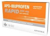 Tablety proti bolesti 400mg Apo-Ibuprofen Rapid Apotex