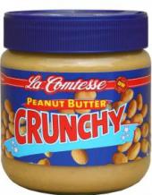 Arašídové máslo Crunchy La Comtesse