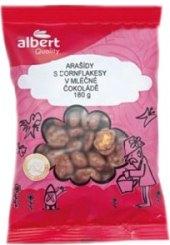 Arašídy a cornflakesy v čokoládě Albert Quality