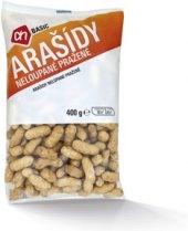 Pražené arašídy neloupané Basic