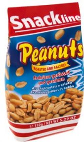 Pražené arašídy Snackline