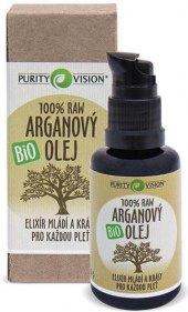 Arganový olej bio Purity Vision