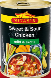 Hotová jídla asijská Vitasia - konzerva