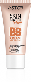BB creme Skin Match Glow Astor