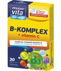 Doplněk stravy B-komplex + vitamín C MaxiVita
