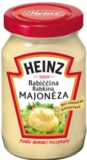 Babiččina majonéza Heinz