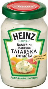 Babiččina tatarská omáčka Heinz