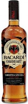 Rum Oakheart Bacardi