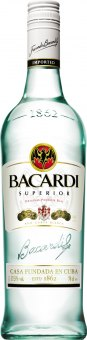 Rum Superior Bacardi