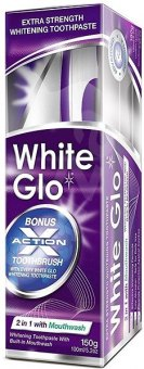 Balení 2in1 Mouthwash White Glo