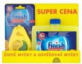 Balíček čistič myčky + osvěžovač Finish