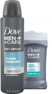 Balíček Deodorant sprej + stick Dove