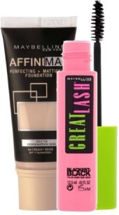 Balíček make up Affinimat + řasenka Great Lash Maybelline
