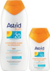 Balíček mléka na opalování OF 20 + OF 10 Astrid Sun