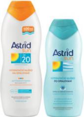 Balíček mléka na opalování OF 20 + po opalování Astrid Sun