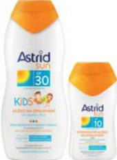 Balíček mléko na opalování dětské OF 30 + OF 10 Astrid Sun