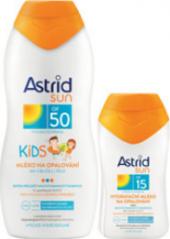 Balíček mléko na opalování dětské OF 50 + OF 15 Astrid Sun