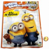 Balíček s překvapením a cukrovinkami Minions