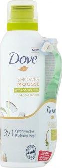 Balíček Sprchová pěna Dove + jednorázové holítko