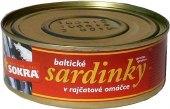 Sardinky baltické v omáčce Sokra