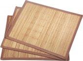 Bambusové prostírání