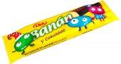 Tyčinka Banán v čokoládě CBA