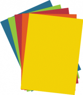 Barevné papíry A4