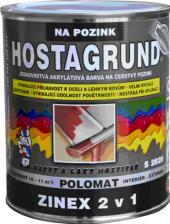 Barva na pozink 2v1 Zinex Hostagrund