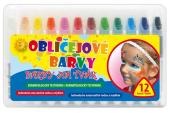 Barvy na obličej MFP paper