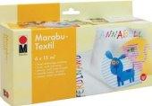 Barvy na textil Crea Box Marabu