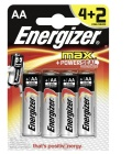 Baterie alkalické Max+ Powerseal Energizer